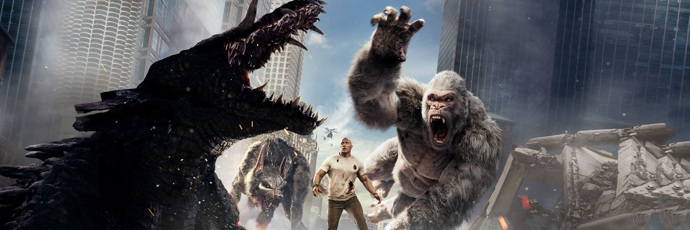 Rampage Full Movie Movies Anywhere