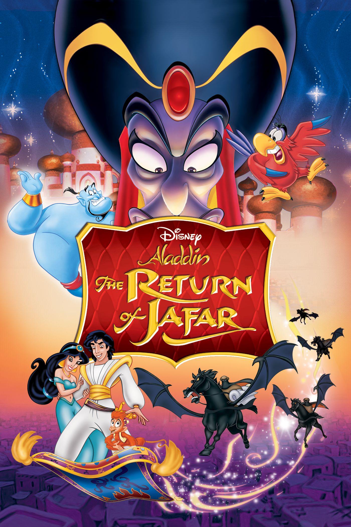 Aladdin: The Return of Jafar (1994) Dual Audio 720p WEBRip [Hindi-English] 620MB