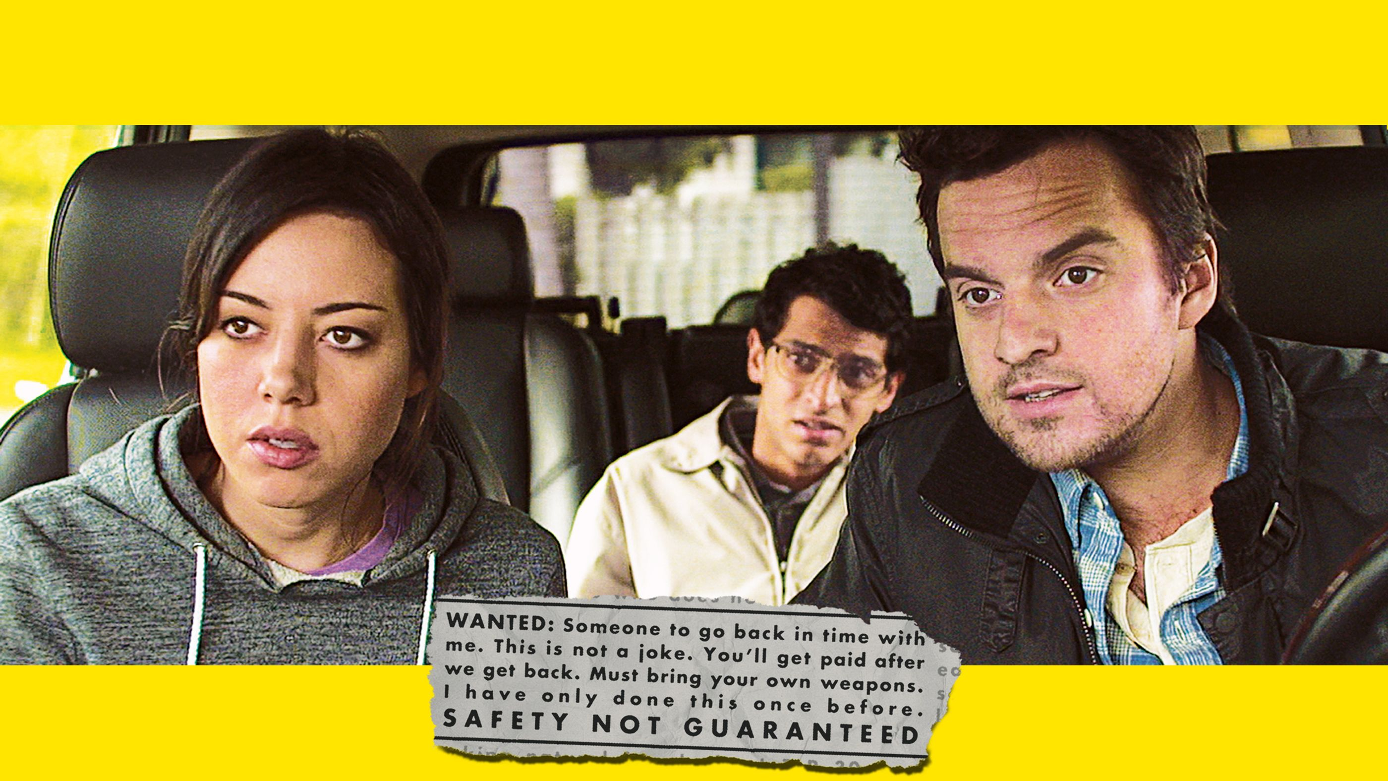 » Best Movie of 2012: 'SAFETY NOT GUARANTEED' |Safety Not Guaranteed 2012 Cast