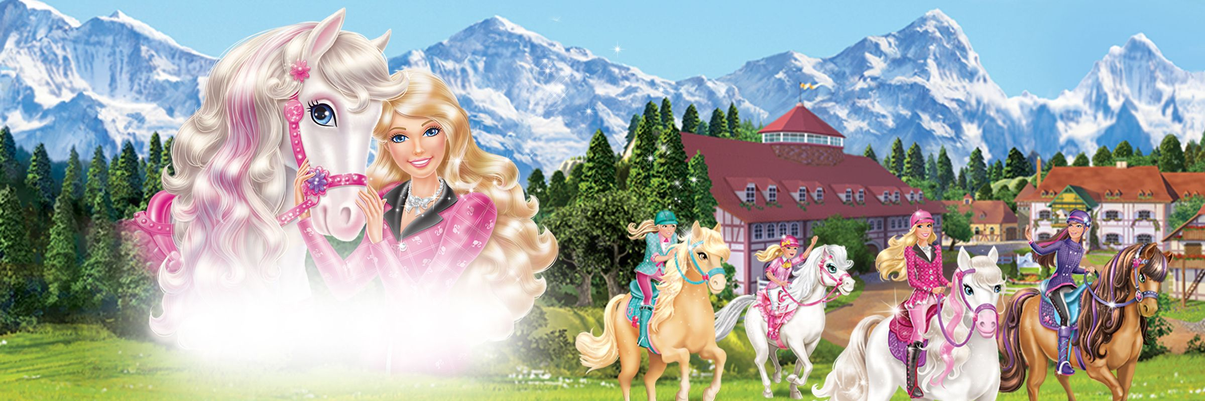 Barbie and Her Sisters in A Pony Tale coloring pages 8 || COLORING ... | 800x2400