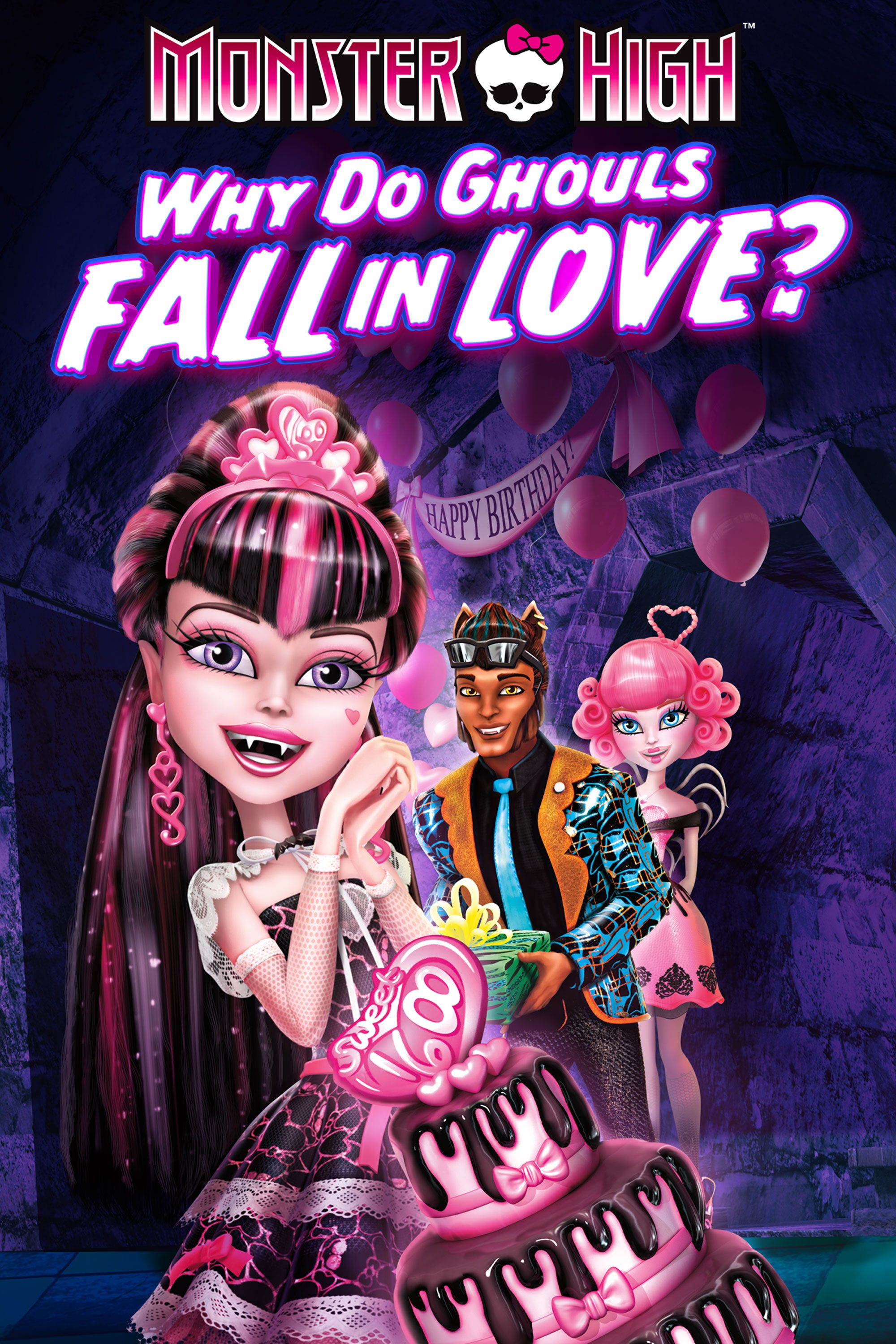 Monster High Why Do Ghouls Fall In Love Full Movie Movies Anywhere
